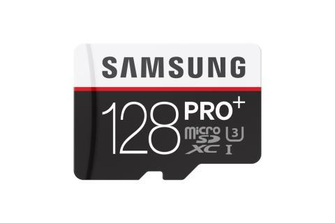Samsung øker minnekapasiteten for det nye microSD-kortet PRO Plus
