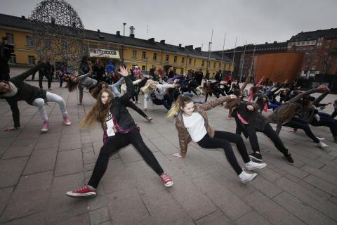 Break the Fight! mukana  Allianssi-risteilyllä nuorisotoimialojen kanssa