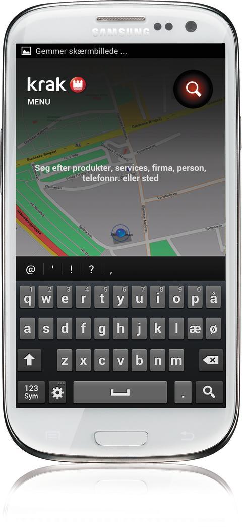 Krak til Android - forside