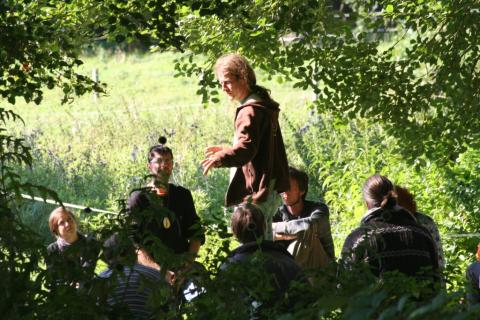 Weiterbildung Wildnispädagogik Teutoburger Wald
