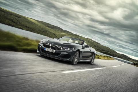 Nya BMW 8-serie Cabriolet