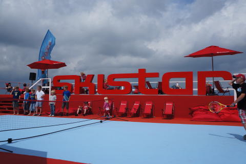 SkiStar Swedish Open Båstad - Valles kompiscamp tennisarena