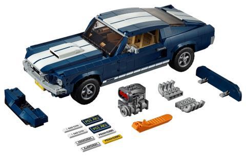 Ford ja LEGO® tuovat klassisen teiden ikonin, Ford Mustangin Creator Expert –valikoimaan