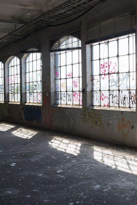 Forsåker_Interiör äldre fabriksbyggnad