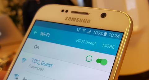 Første mobilsamtale via almindeligt WiFi