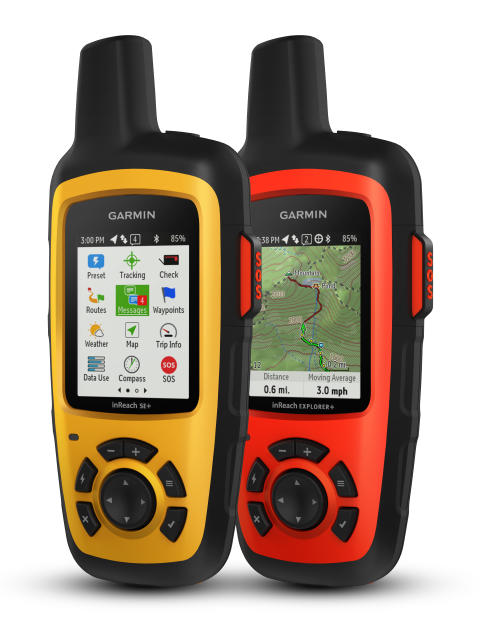 Garmin® presenterar  inReach satellitkommunikation