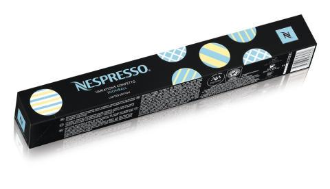 Nespresso Variations Confetto Snowball