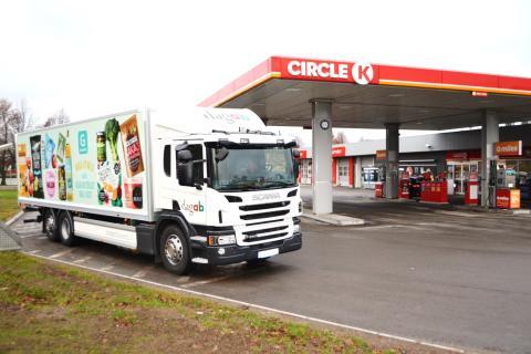 Axfood väljer Circle K som drivmedelsleverantör och ökar därmed användningen av förnybara drivmedel