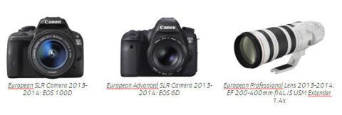 Power to your next step: Canon belönas med prestigefyllda EISA-utmärkelser i flera kategorier