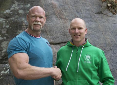 Magnus Samuelsson i närmare samarbete med S:t Eriks