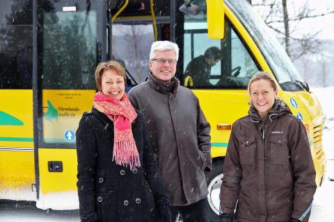Fler bussar från och till Gräsmark och Östra Ämtervik