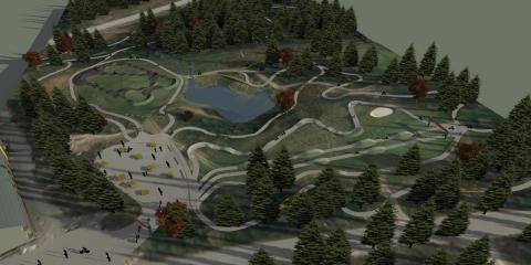 Trysil Bike Park - ny inngang til Gullia