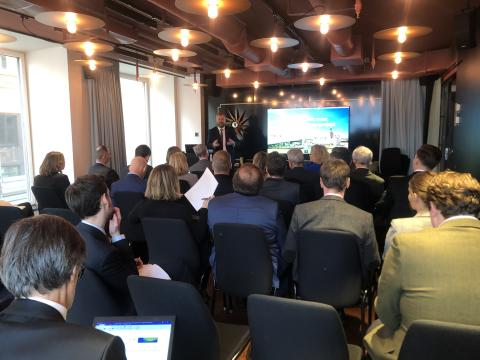 Europas största aktörer inom järnvägsbranschen samlas för en snabbare järnvägsförbindelse mellan Oslo och Stockholm