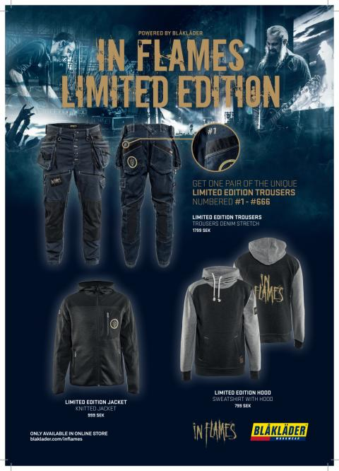 IN FLAMES LIMITED EDITION