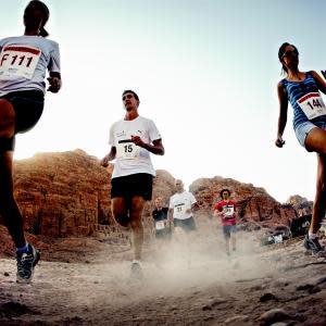 Løb ørken-marathon i Indiana Jones´ fodspor