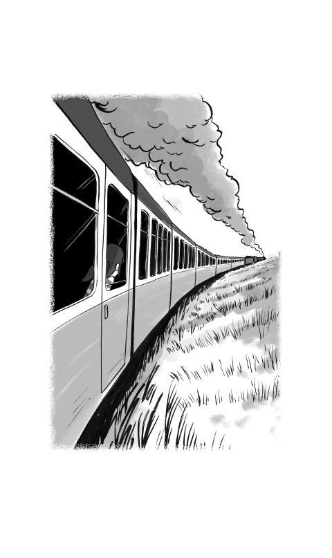 David Baddiel's unique children's story arrives on Virgin Trains