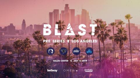 BLAST Pro Series Los Angeles: World-class teams confirmed