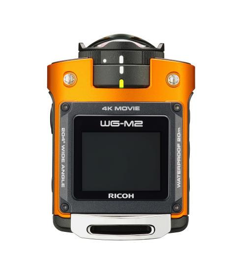 Ricoh WG-M2, oransje ovenifra