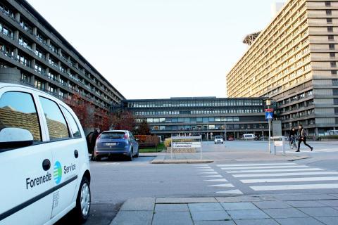 Forenede Service overtager stor del af rengøringen på Rigshospitalet