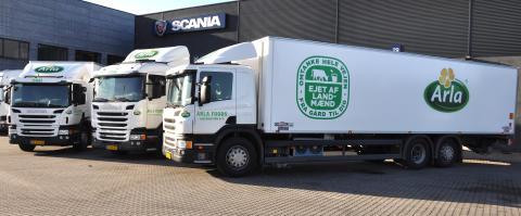 Ny lastbiler til Arla