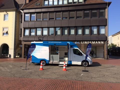 Beratungsmobil der Unabhängigen Patientenberatung kommt am 6. November nach Hamm.