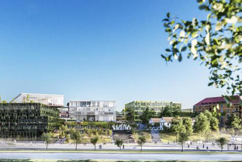 Parallella uppdrag för Campus Näckrosen i Göteborg genomförda