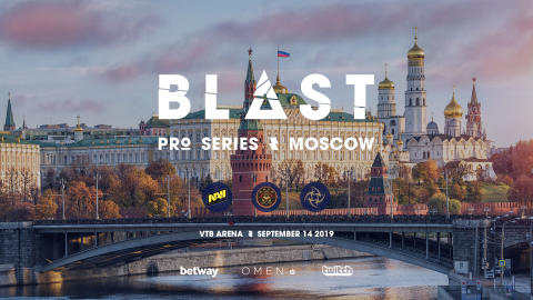 ​BLAST Pro Series Moscow brings top CS:GO teams to state-of-the-art VTB Arena