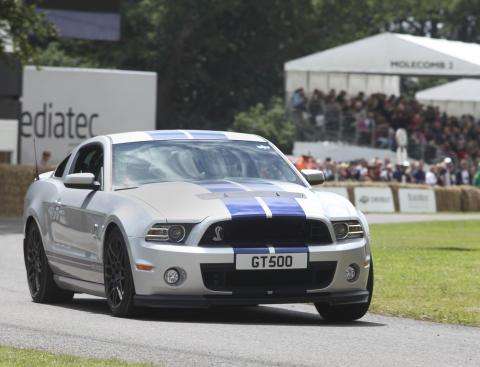 Ford Shelby GT500 laddar för fullt på Goodwood Festival of Speed