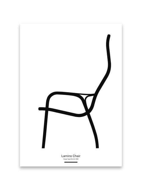 Lamino Chair Poster