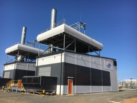 18MW HFO kraftstasjon i Liberia