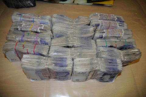 NW 20 13 Seized Cash