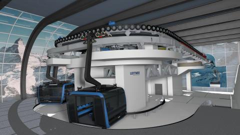 Neue 3S-Bahn zum Kleinmatterhorn