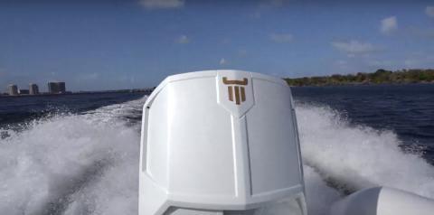 Game Changer ! Oxe Diesel Outboard 150 hp with wireless start (Coast Key)