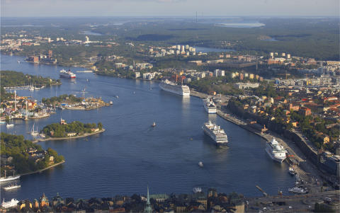 Nordin/ Bonnier (M): Över 12 miljoner passagerare reste via Stockholms Hamnar under 2012