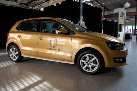 Fordonsdekor VW, Guldägget
