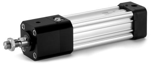 Pneumatiska cylindrar med kolvstångslåsning ger möjlighet till stopp av rörelsen i industriella applikationer för bättre systemsäkerhet