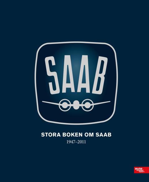 Stora Boken om Saab – omslag