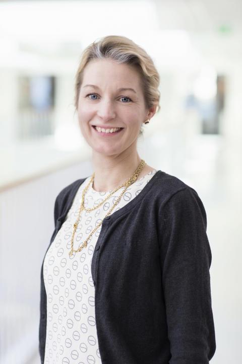 Sandra Schönbeck, vd, Ryggkirurgiska Kliniken Strängnäs.