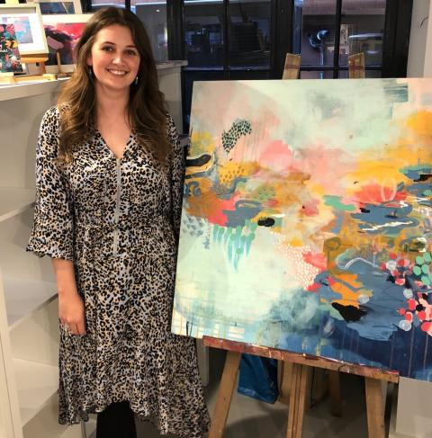 Design graduate shortlisted for national art prize