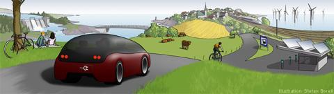 Snabbladdare bättre för elbilar än elvägar
