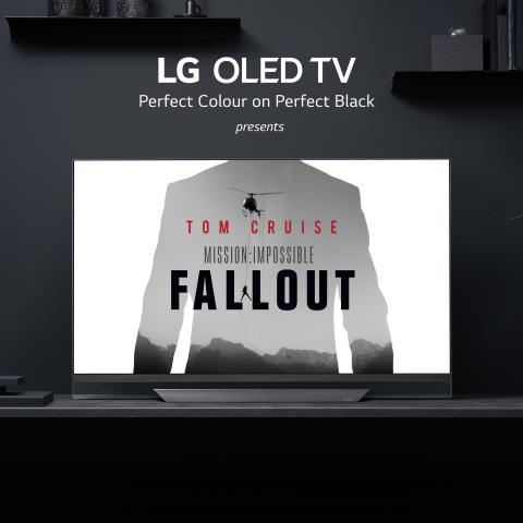 Den svenska galapremiären av Mission: Impossible – Fallout får knivskarp bildskärpa, perfekt svärta och djupare färger av LG Electronics