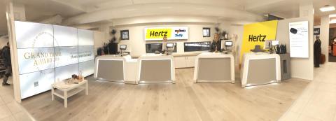 Rekordomsetning for Hertz - 20% vekst