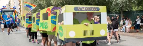Nobina, stolt mångårig sponsor och partner till Stockholm Pride