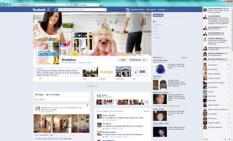Älvsbyhus tar klivet ut i sociala media