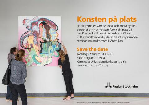 Konsten på plats - ett seminarium om Sveriges största konstsatsning