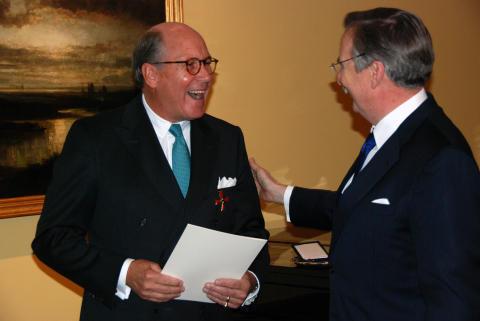 Bundesverdienstkreuz an Handelskammer-Vizepräsident Hans-Theodor Kutsch