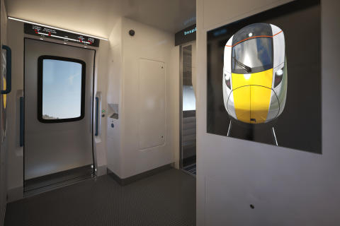 Hitachi Rail Europe debuts conceptual high speed train interiors