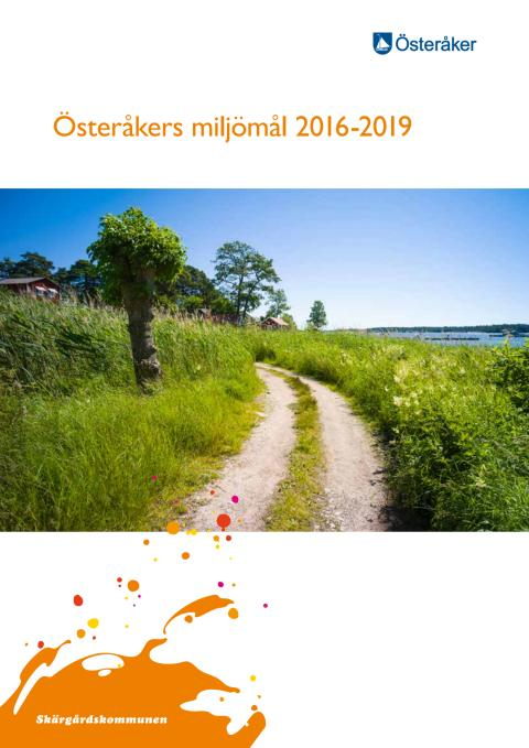 Österåkers miljömål 2016-2019