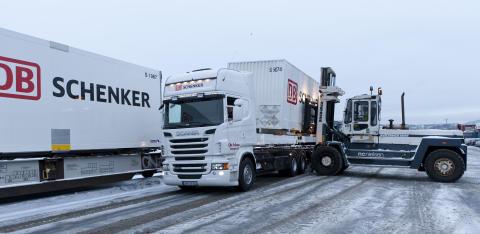 CargoNet  ny togoperatør for Schenker Oslo-Narvik