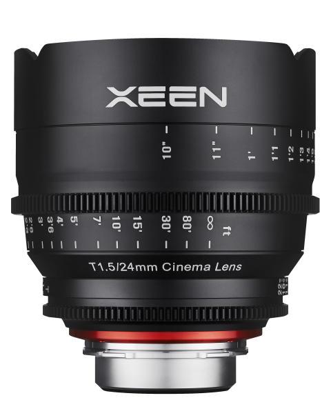 XEEN 24mm T1.5 fra siden 2